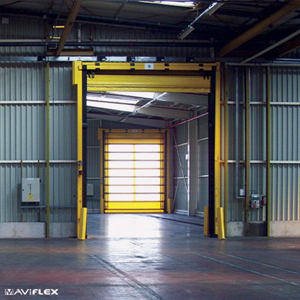 Porte automatique extérieure MaviPASS-MAVIFLEX
