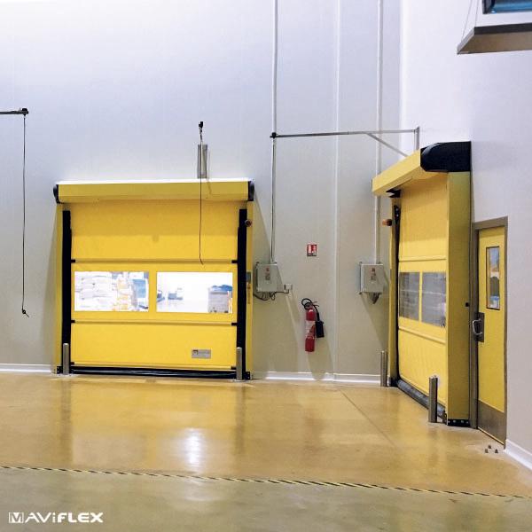 Porte automatique intérieure MaviROLL-MAVIFLEX