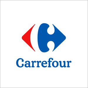 Distribution logo Carrefour-MAVIFLEX)